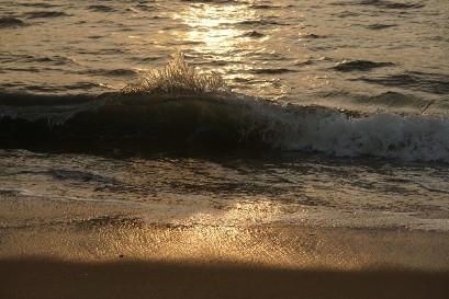 Высокие приливные волны, медитация не пришла, маленькое чудо