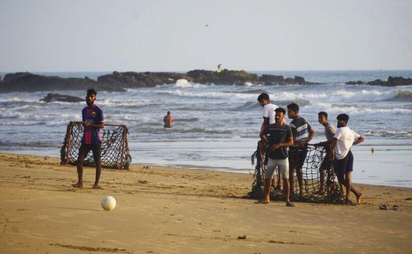 Посылочные дни, оживление на пляже Кери, наслаждаюсь пока есть возможность